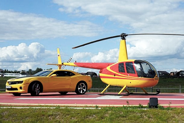 идея воздушного такси